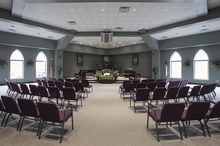 McCutchanville Community Church Sanctuary